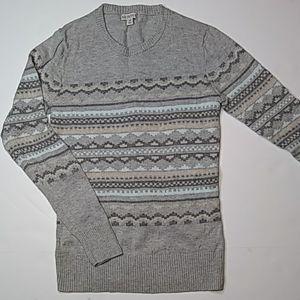 Merona Fair Isle Crew Neck Sweater